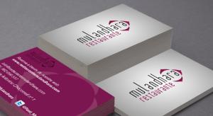 tarjetas de presentacion para restaurantes