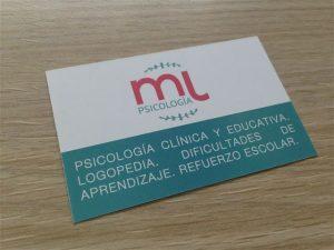 tarjetas de visita para psicologos