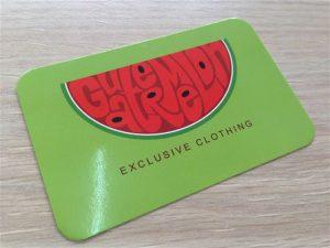 tarjetas de visita tiendas de ropa