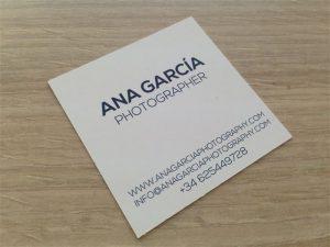 imprimir tarjetas de visita para fotografos